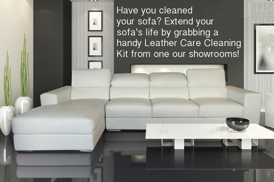 HAVE YOU CLEANED YOUR SOFA?